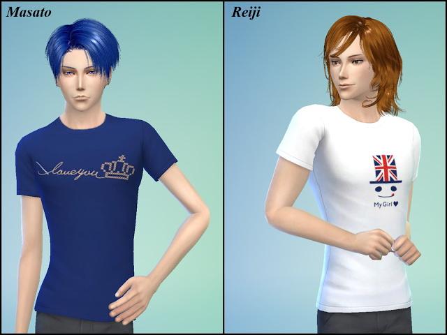 Uta No Prince Sama T Shirt at NG Sims3 image 22110 Sims 4 Updates