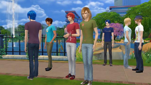 Uta No Prince Sama T Shirt at NG Sims3 image 2228 Sims 4 Updates