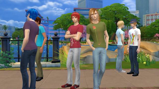 Uta No Prince Sama T Shirt at NG Sims3 image 2232 Sims 4 Updates