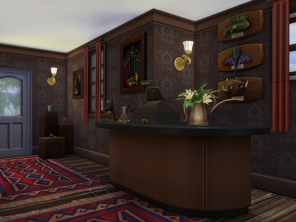 Sims 4 Gypsy Elixir Shop by Ineliz at TSR