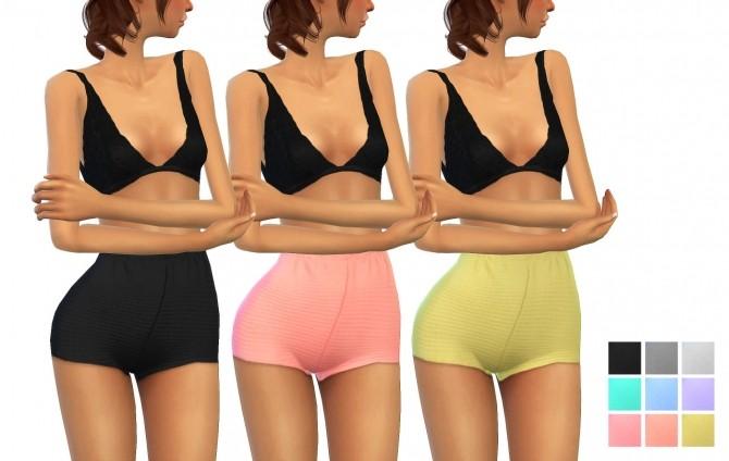 Sims 4 High waist shorts at Dani Paradise