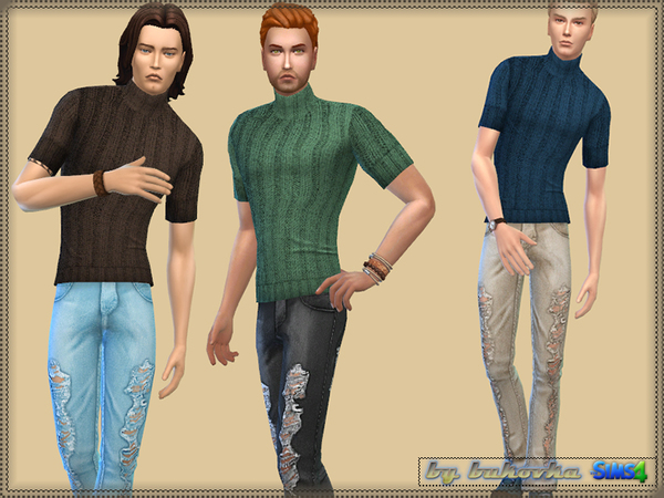 Casual Set male by bukovka at TSR image 2623 Sims 4 Updates