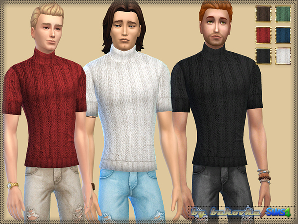 Casual Set male by bukovka at TSR image 2723 Sims 4 Updates