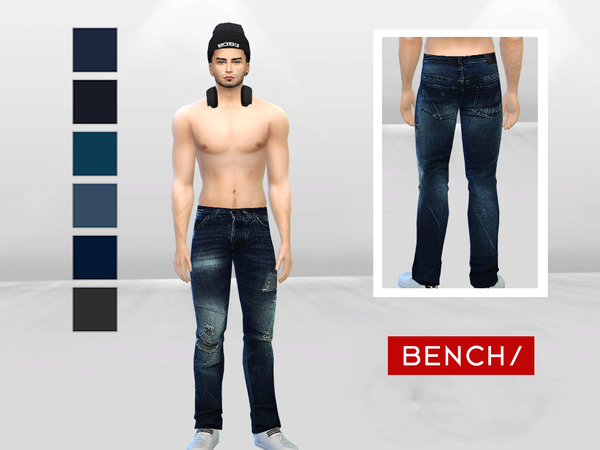 Dark Storm Destroyed Jeans by McLayneSims at TSR image 273 Sims 4 Updates