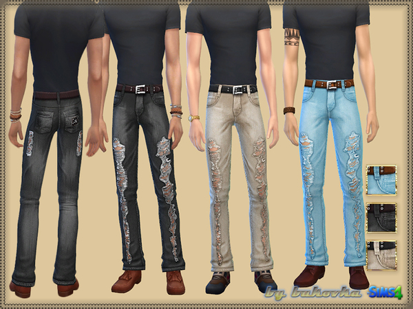 Casual Set male by bukovka at TSR image 2824 Sims 4 Updates