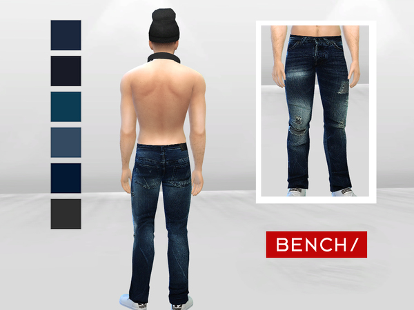 Dark Storm Destroyed Jeans by McLayneSims at TSR image 283 Sims 4 Updates