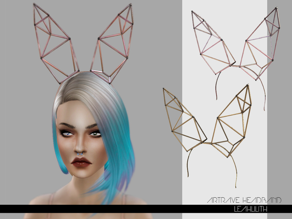 ArtRave Headband by LeahLilith at TSR image 2920 Sims 4 Updates