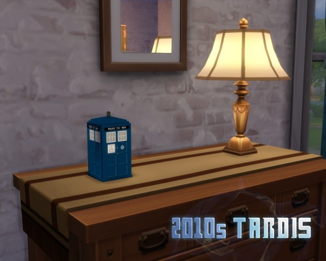 Miniature TARDIS by SleezySlakkard at Mod The Sims image 297 670x536 Sims 4 Updates