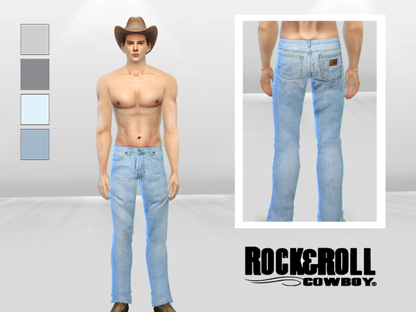 1977 Acid Wash Jeans by McLayneSims at TSR image 3013 Sims 4 Updates