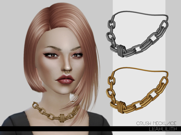 Crush Necklace by Leah Lillith at TSR image 306 Sims 4 Updates