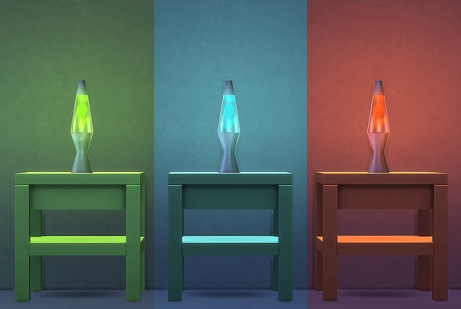 Lavalicious Lamp At Lumialover Sims 187 Sims 4 Updates
