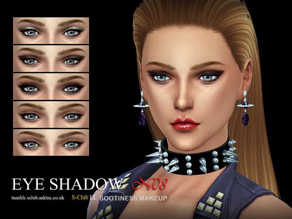 Sims 4 Eyeshadow 08 by S Club LL at TSR