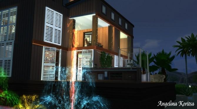 Sims 4 Island sunrise house at Angelina Koritsa