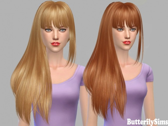 Sims 4 B fly hair af po 154 at Butterfly Sims
