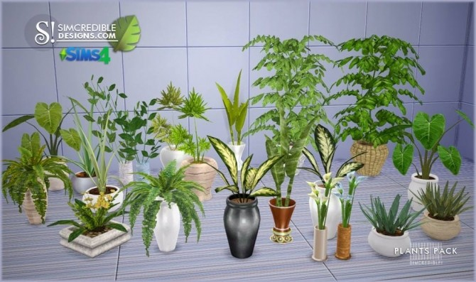 Plants Pack at SIMcredible! Designs 4 image 327 670x397 Sims 4 Updates