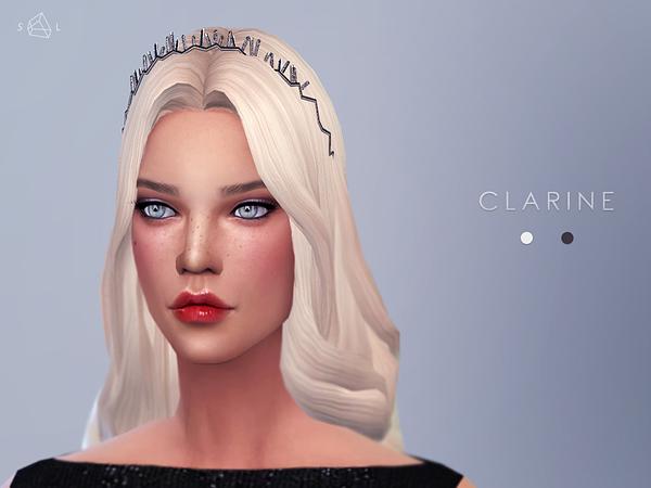 Sims 4 Silver Diamond Headband CLARINE by starlord at TSR