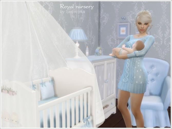 Sims 4 Royal Nursery at Sims by Severinka