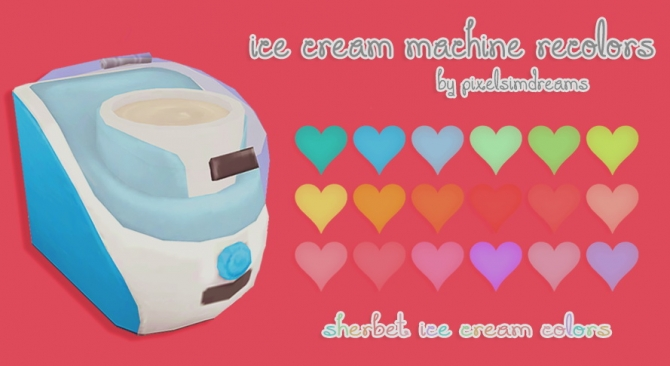 Sweet Tooth Ice Cream Maker Recolors At Pixelsimdreams