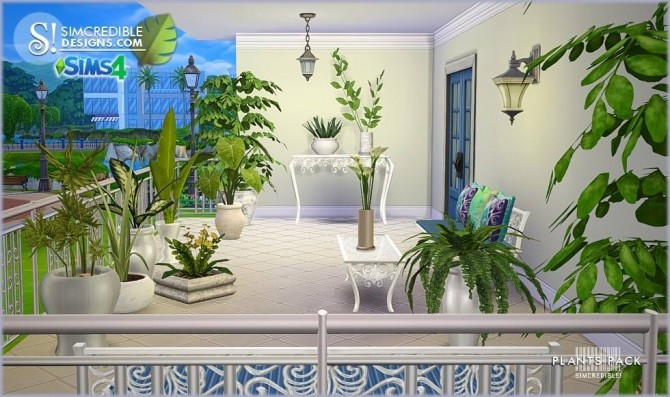 Plants Pack at SIMcredible! Designs 4 » Sims 4 Updates