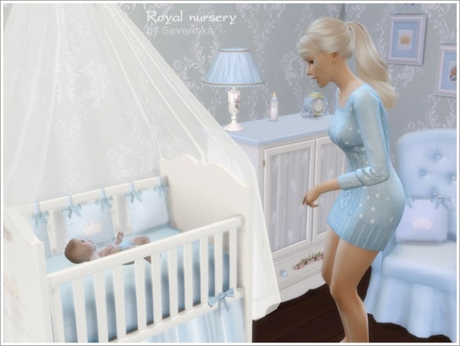 Royal Nursery At Sims By Severinka 187 Sims 4 Updates