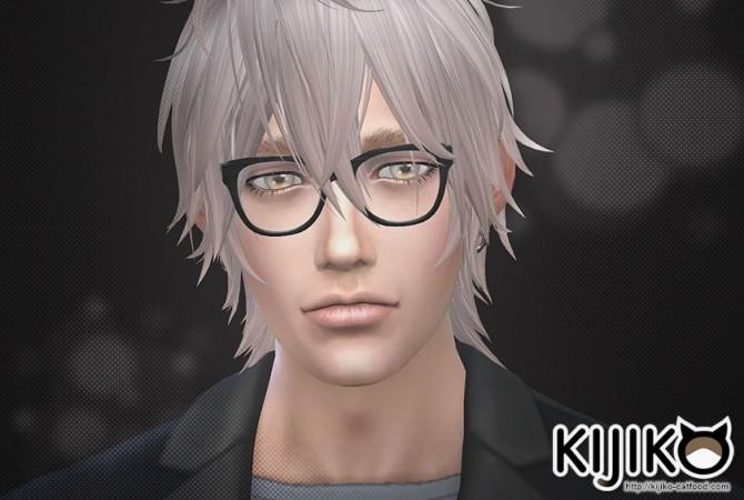 Semi Square Eyeglasses at Kijiko image 3418 670x450 Sims 4 Updates
