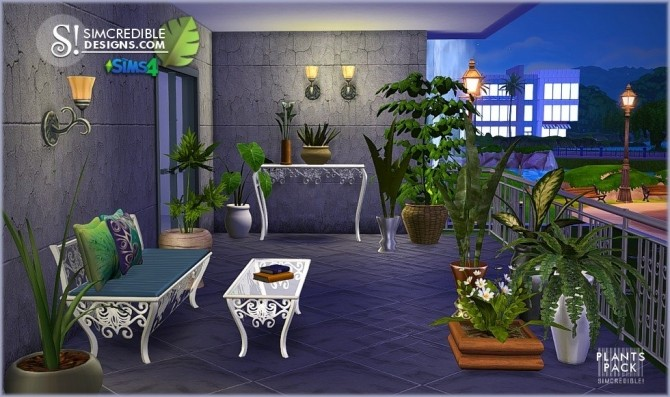 Plants Pack at SIMcredible! Designs 4 image 346 670x397 Sims 4 Updates