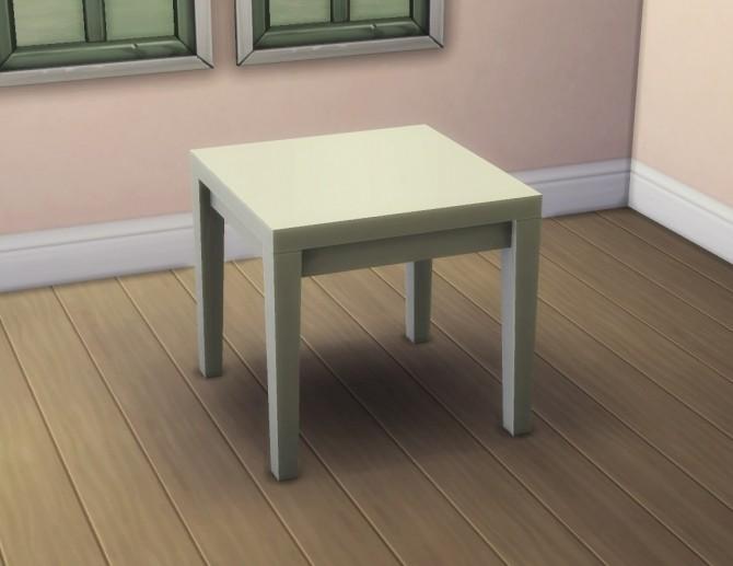Small Tabula Rasa Dining Table by plasticbox at TSR image 348 670x517 Sims 4 Updates