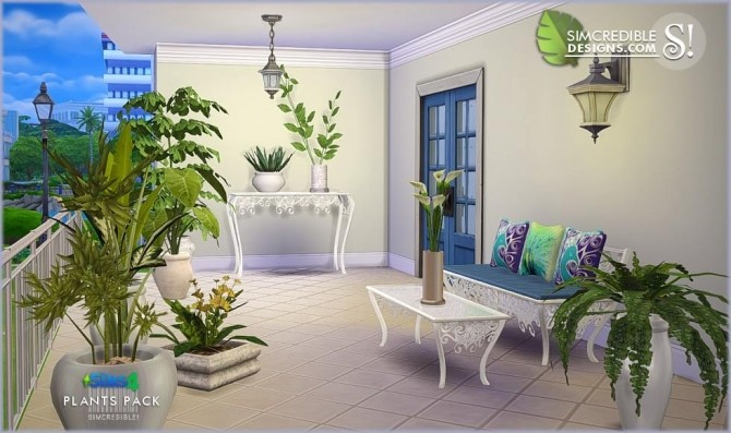 Plants Pack at SIMcredible! Designs 4 image 356 670x397 Sims 4 Updates