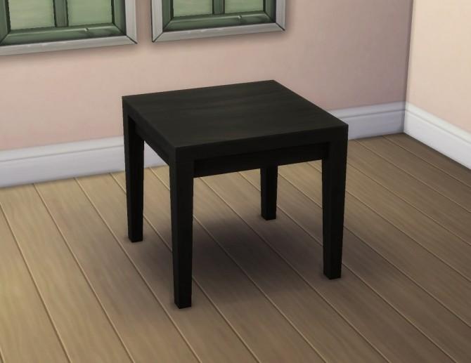 Small Tabula Rasa Dining Table by plasticbox at TSR image 358 670x517 Sims 4 Updates
