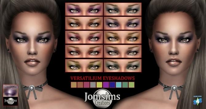 Sims 4 VERSATILIUM eyeshadow at Jomsims Creations