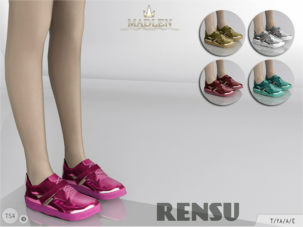 Madlen Rensu Sneakers by MJ95 at TSR image 380 Sims 4 Updates