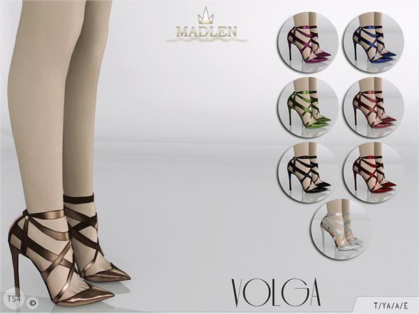 Sims 4 Madlen Volga Shoes by MJ95 at TSR