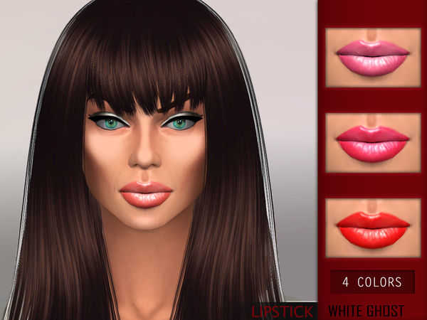 Light Color Lipstick by WhiteGhost at TSR image 391 Sims 4 Updates