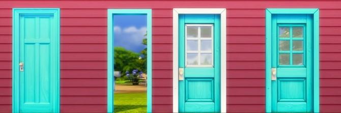 Windows + Doors + Planter Box Recolors at Pixelsimdreams image 3920 670x222 Sims 4 Updates