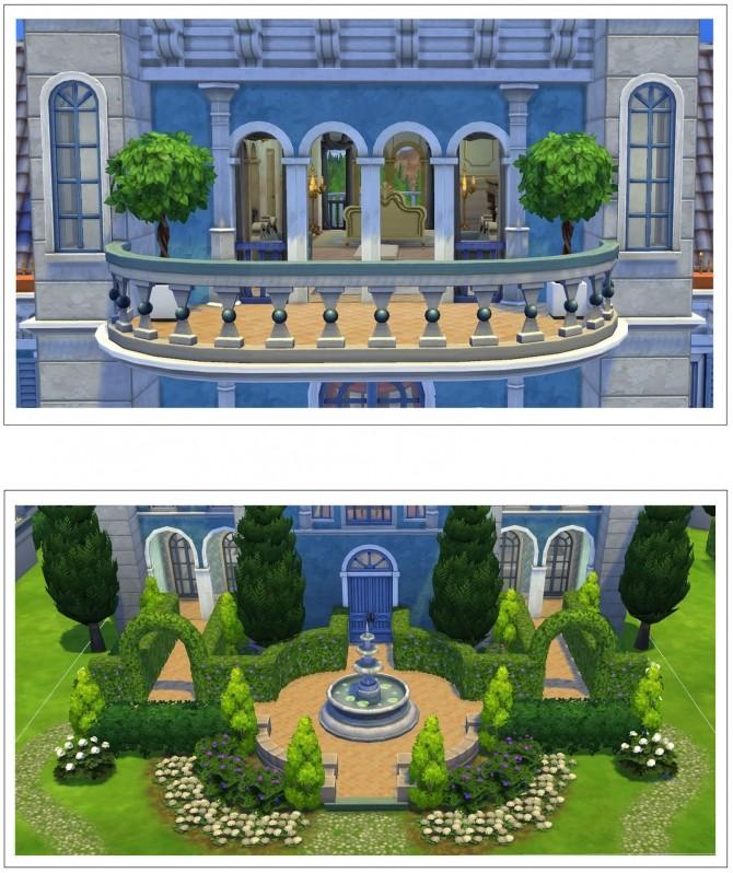 Sims 4 Journey to Orlais Villa at Halamshiral by klein svenni at Mod The Sims
