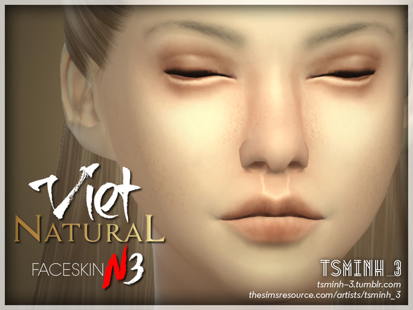 VIET Natural Face Skin by tsminh 3 at TSR image 4023 Sims 4 Updates