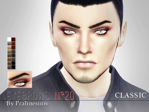 Sims 4 Eyebrow Megapack 2.0 by Pralinesims at TSR