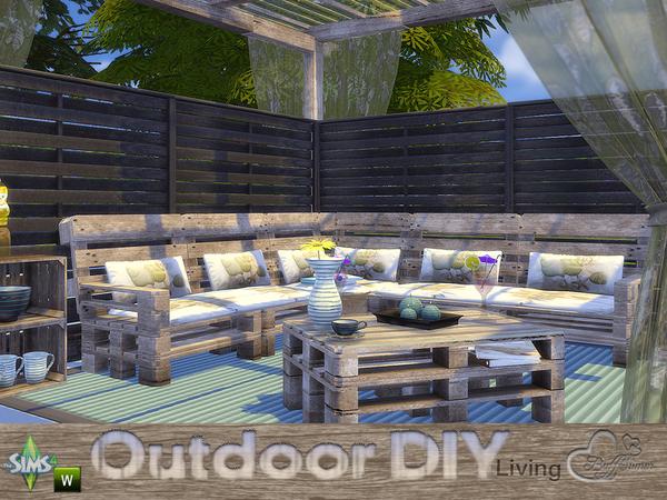 DIY Outdoor Living by BuffSumm at TSR image 4221 Sims 4 Updates