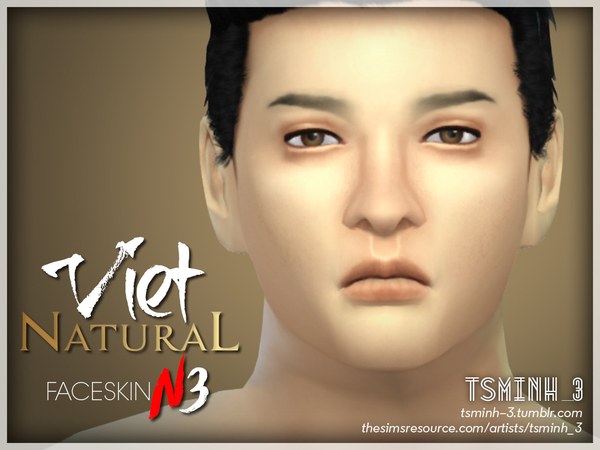 VIET Natural Face Skin by tsminh 3 at TSR image 4224 Sims 4 Updates