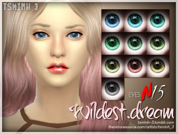 Wildest Dream Eyes by tsminh 3 at TSR image 4228 Sims 4 Updates