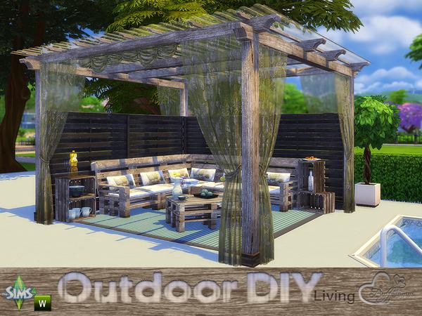 DIY Outdoor Living by BuffSumm at TSR image 4320 Sims 4 Updates