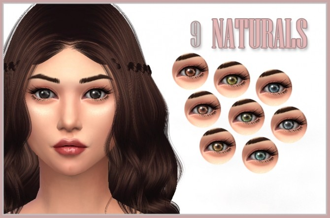 Sims 4 Fresh 3 Sets of Eye Contacts by kellyhb5 at Mod The Sims