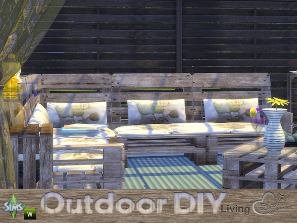 DIY Outdoor Living by BuffSumm at TSR image 4420 Sims 4 Updates