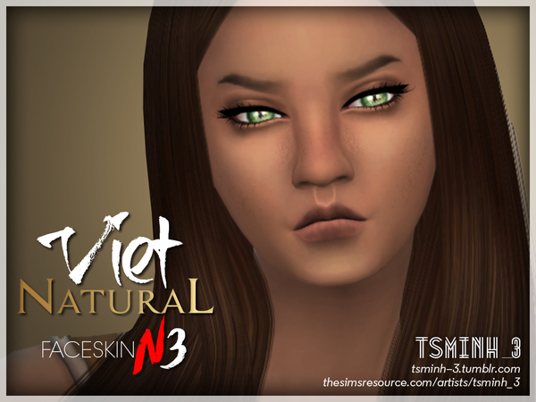 VIET Natural Face Skin by tsminh 3 at TSR image 4423 Sims 4 Updates