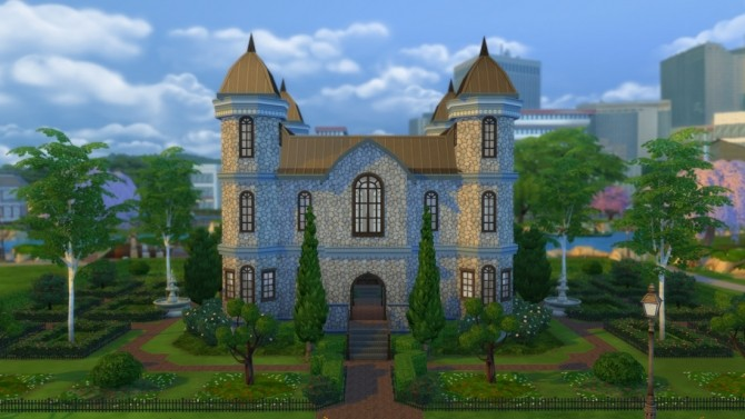 Sims 4 Kingston Castle at DeSims4