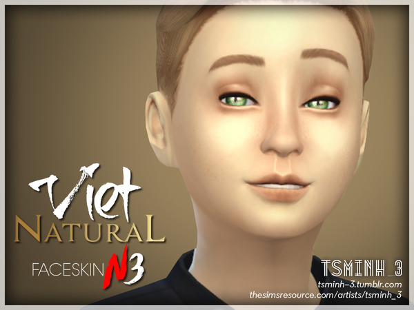 VIET Natural Face Skin by tsminh 3 at TSR image 4523 Sims 4 Updates