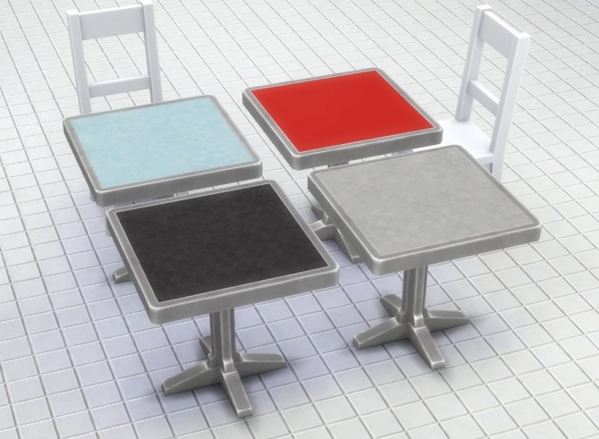 Metal Table with Lino Top by plasticbox at Mod The Sims image 4618 670x491 Sims 4 Updates