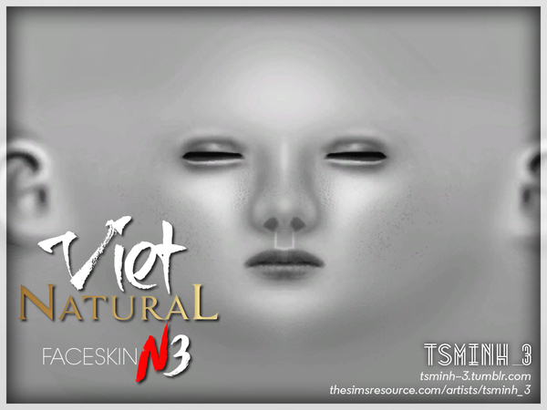 VIET Natural Face Skin by tsminh 3 at TSR image 4624 Sims 4 Updates