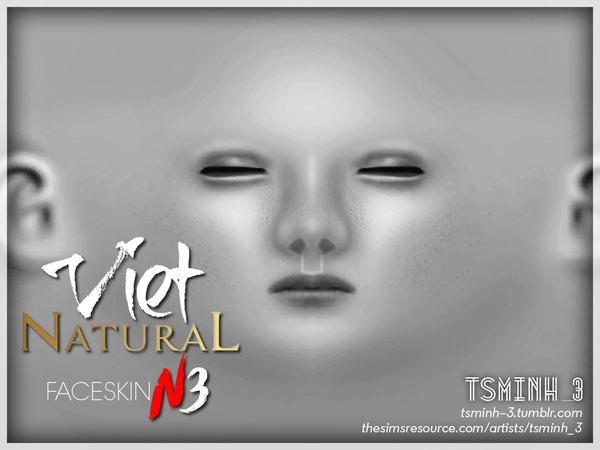 Sims 4 VIET Natural Face Skin by tsminh 3 at TSR