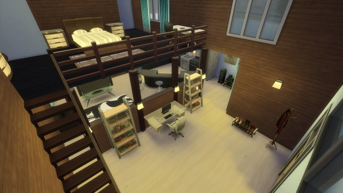 Sandtrap Bachelor Pad by RayanStar at Mod The Sims image 464 670x377 Sims 4 Updates